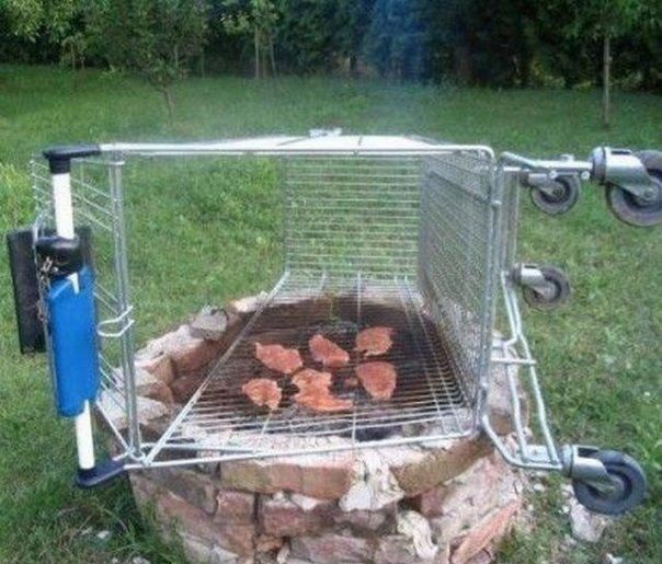 Barbecue caddie